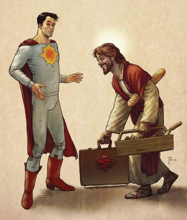 Quadrinho sobre Jesus
