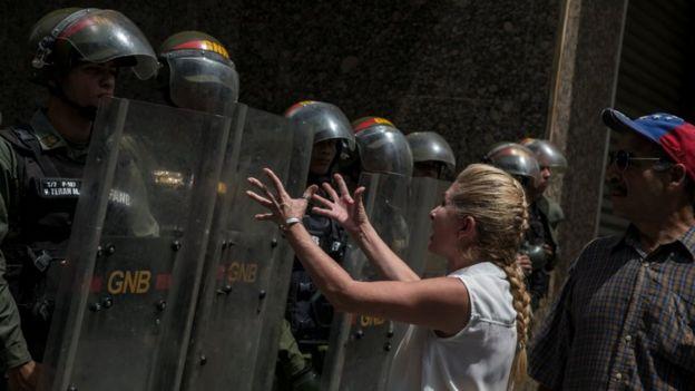 Протесты в Венесуэле длятся уже давно