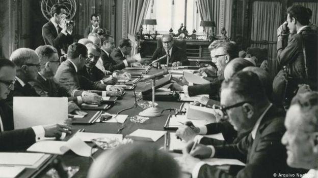Reunião da cúpula do governo militar