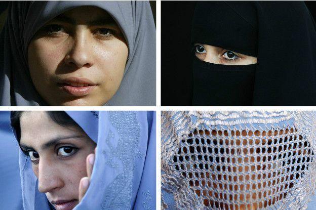 виды женской одежды в исламе