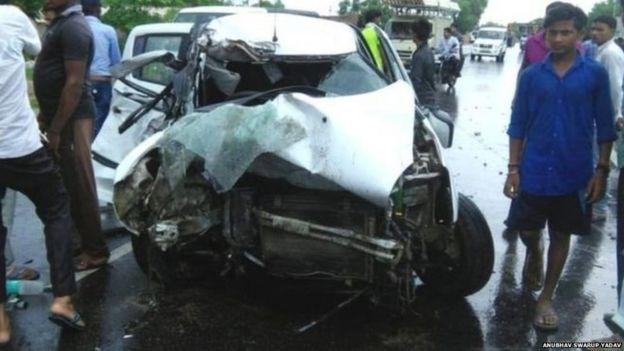 कार दुर्घटना