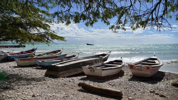 O grupo aborígine Tainos também deu origem ao nome Haiti.