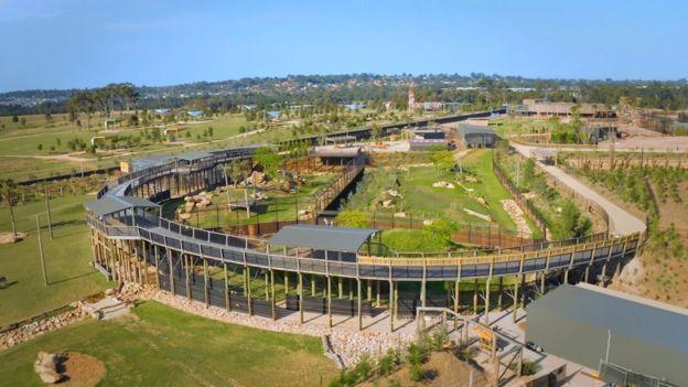 Новый зоопарк расположен на западе Сиднея