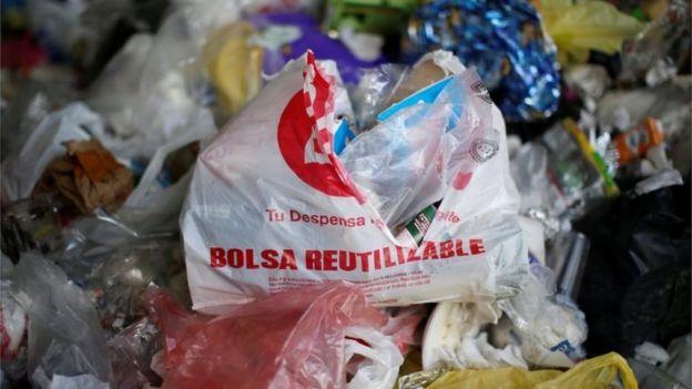 Un tiradero de basura