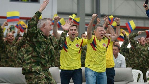Santos celebra