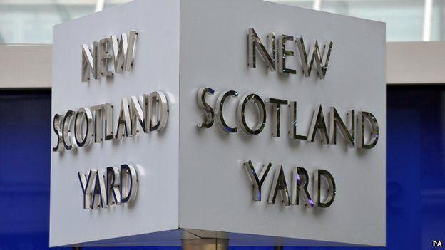 Scotland Yard in London