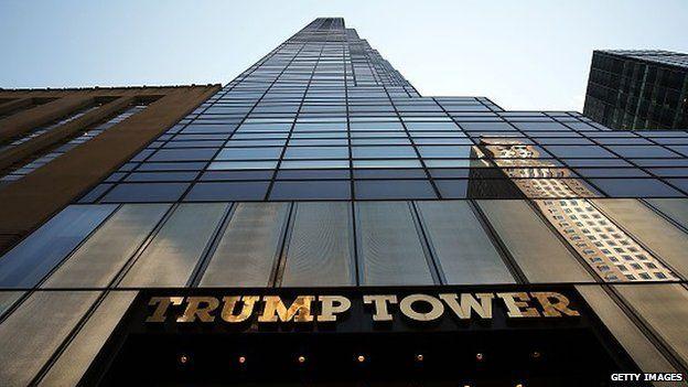 Trump Tower in Manhattan, New York City
