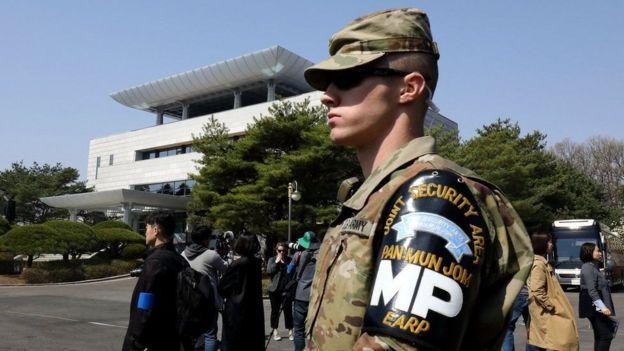 Có hàng ngàn lính Mỹ đang đóng ở Nam Hàn