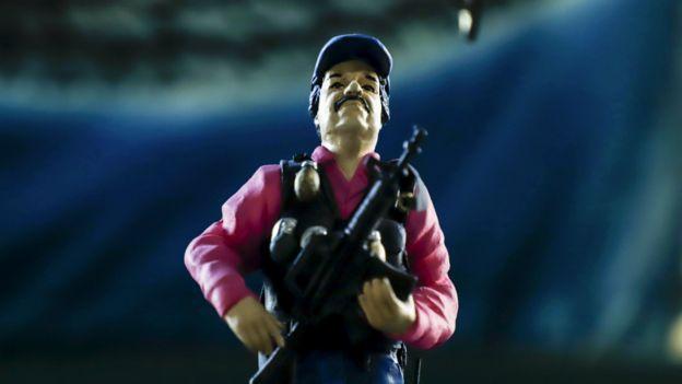 Muñeco de El Chapo