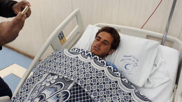 袭击事件的伤者被带到包括开罗在内的附近医院救治