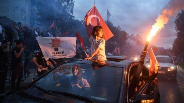 انتحابات ترکیه: رجب طیب اردوغان پیروز شد