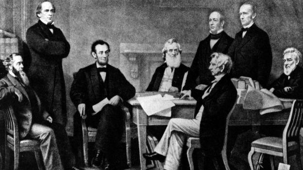 Abraham Lincoln entre sus pares