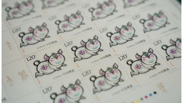 豬年特別版郵票