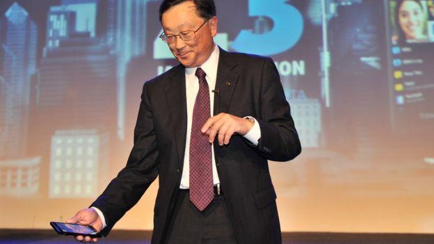 Blackberry Chief Executive John Chen