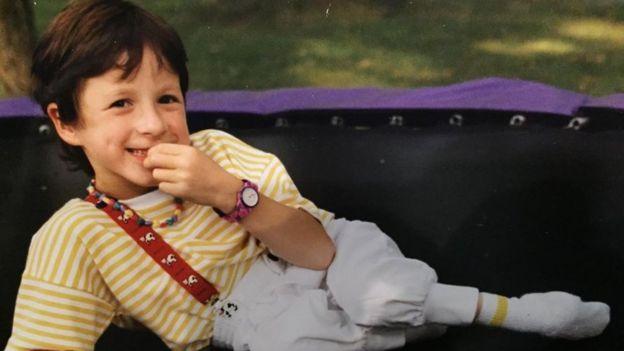 Tatyana McFadden as a child