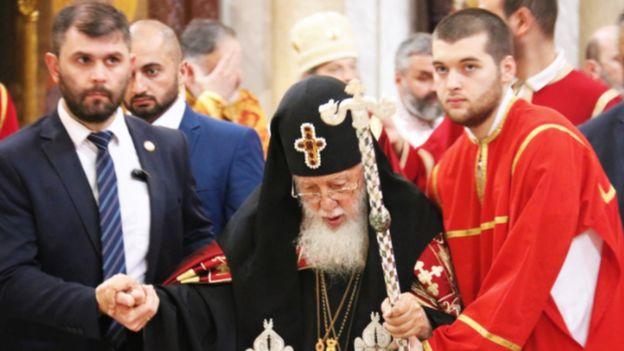 Georgian Patriarch Ilia II, September 2018
