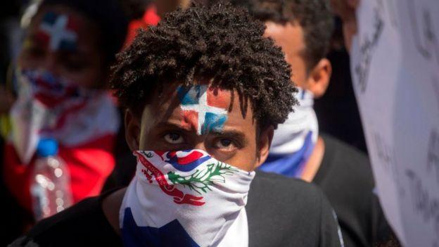manifestaciones en República Dominicana