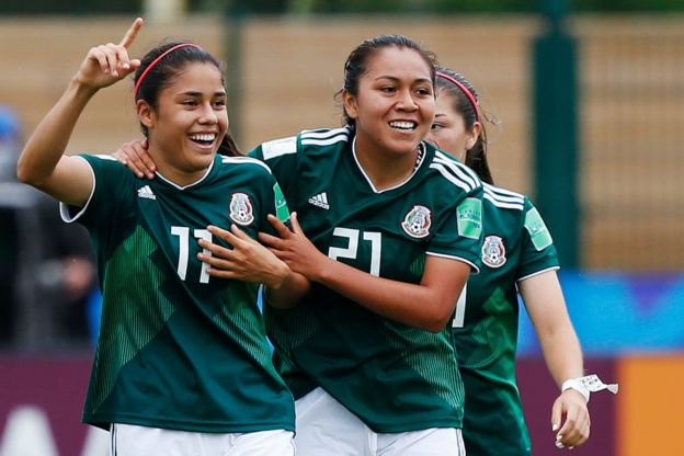 Jugadores de México.