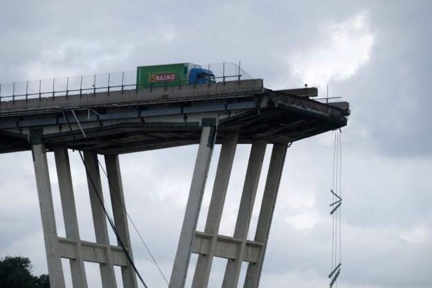 Çöken Morandi Köprüsü