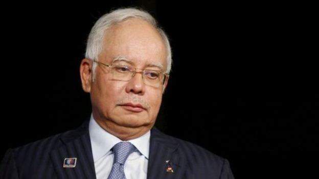 Mantan PM Najib Razak