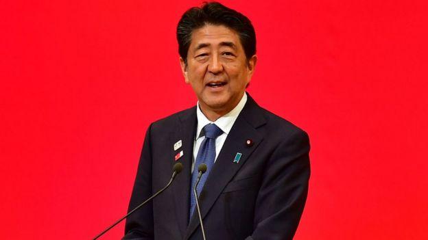 Le Premier ministre japonais Shinzo Abe, copréside la Conférence internationale de Tokyo sur le développement de l'Afrique (Ticad).