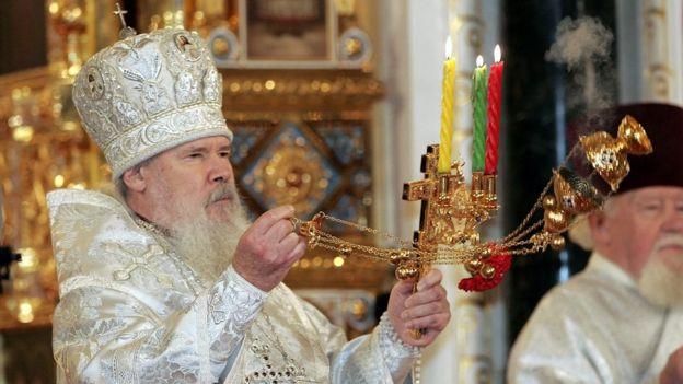 патриарха Московский и всея Руси Алексий II