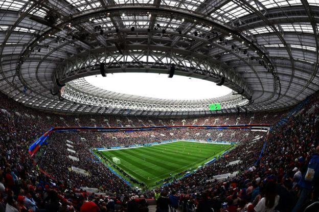 Estadio de fútbol en Rusia