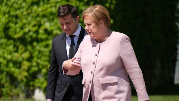 Меркель та Зеленський