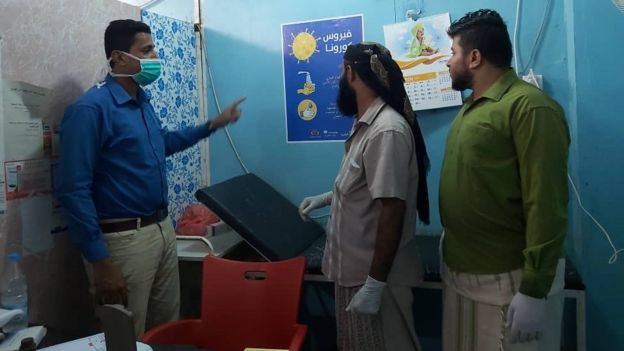 Dr Shalal Hasel at AlShareef health centre