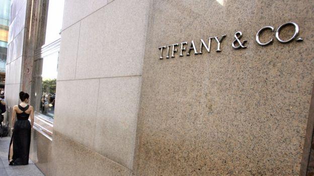 Fachada de Tiffany en Nuevba York.