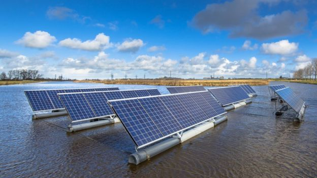 Climate change: Water and green energy produced by a single