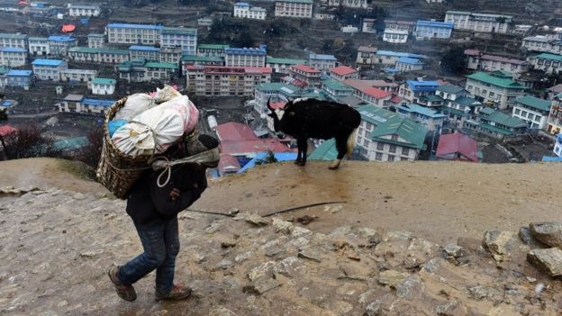 Nepal Country Profile BBC News - Poor country name