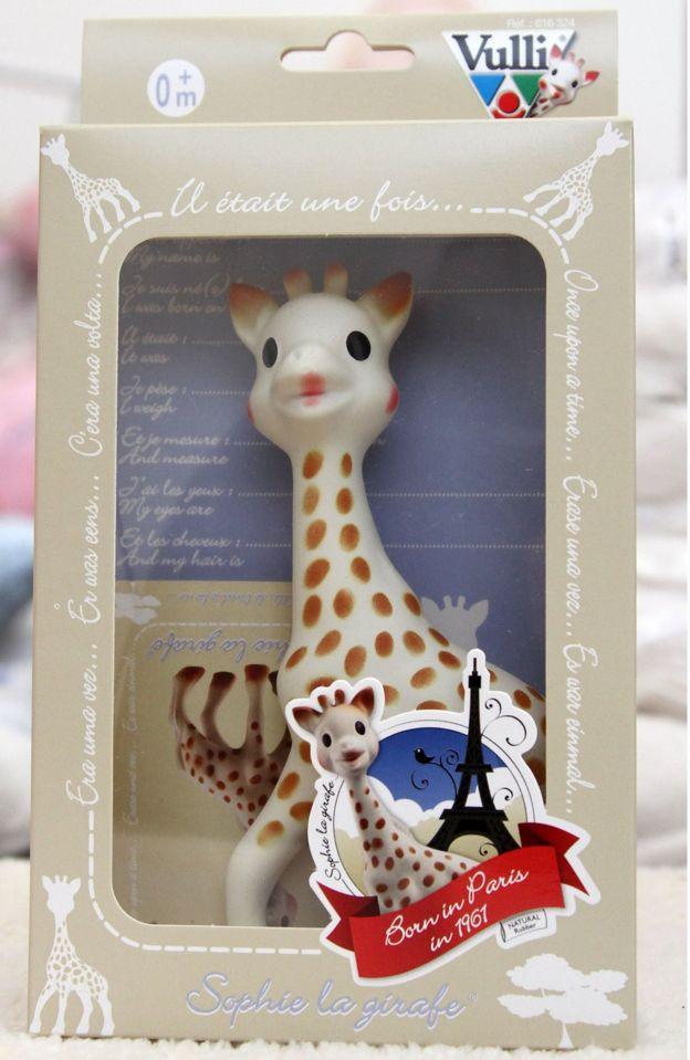 Sophie La Girafe Teething Toy Recall