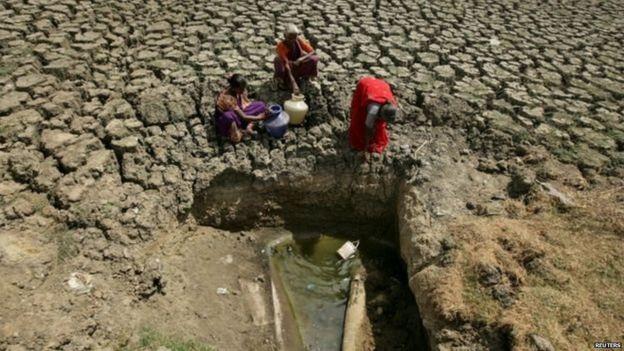 चेन्नई में पानी की कमी
