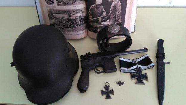 Artefatos da Primeira Guerra