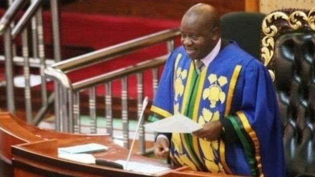 Spika wa bunge la Tanzania Job Ndungai alimvua kiti cha ubunge Tundu Lissu