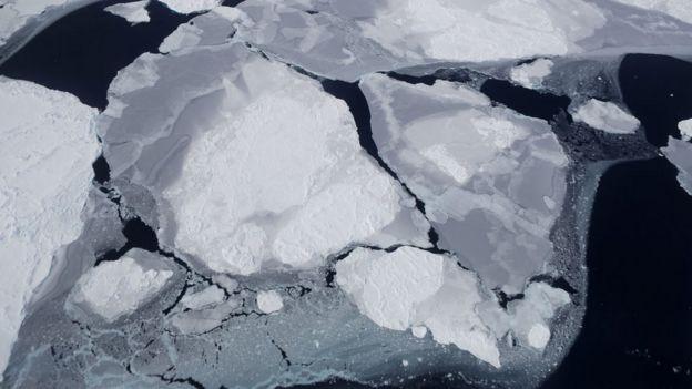 از بین رفتن کوههای یخی در جنوبگان یکی از تهدیدهای اصلی پدیده گرمایش زمین شناخته شده است