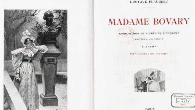 Madame Bovary libro
