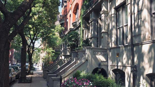 Una calle de Manhattan