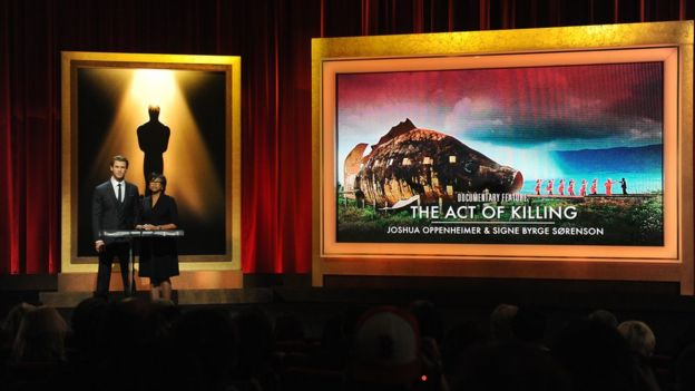 Oscar-nominated film The Act of Killing