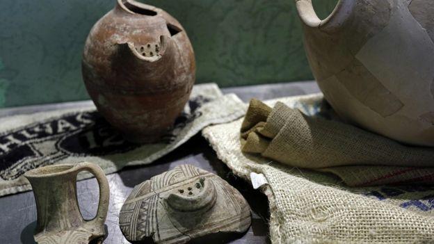Образцы дрожжей были получены из остатков древних кувшинов