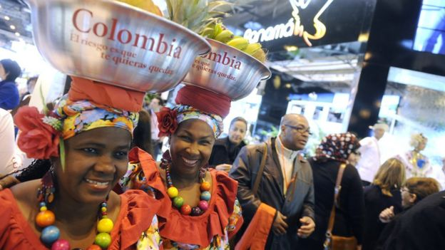 Two Colombian women
