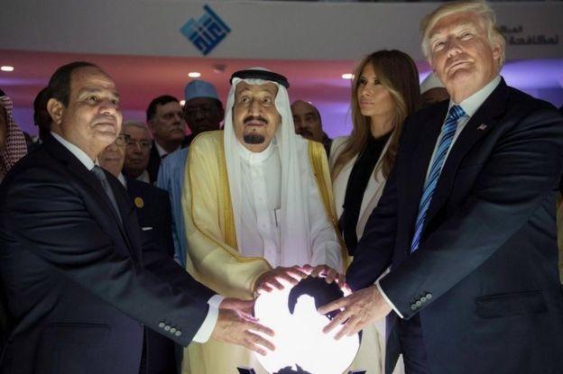 डोनल्ड ट्रंप का सऊदी अरब दौरा