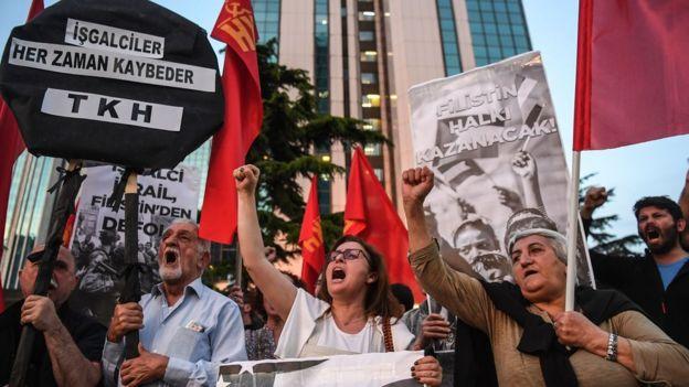 israil protestoları