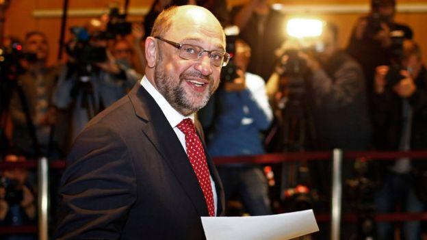 SPD Genel Başkanı Martin Schulz