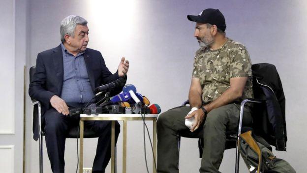 Sarkisyan ve Paşinyan