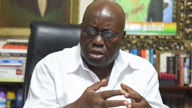Presidente de Ghana Nana Akufo-Addo