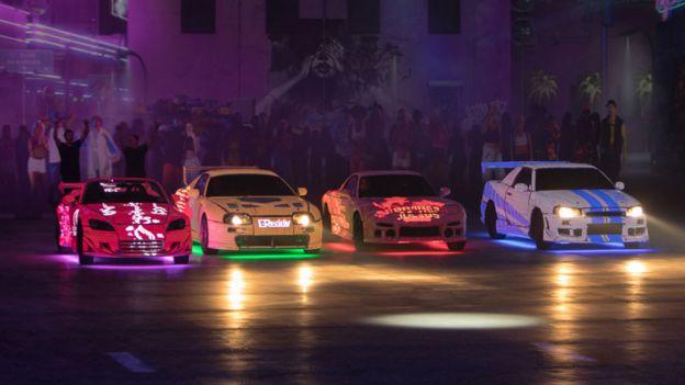 Autos de Fast & Furious Live. Foto: Fast & Furious Live.