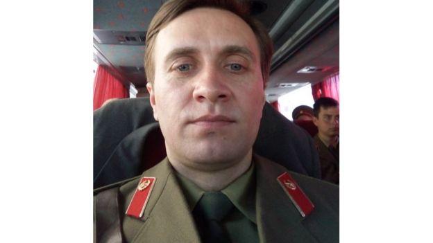 Володимир Пантелюк у серіалі зіграв військового