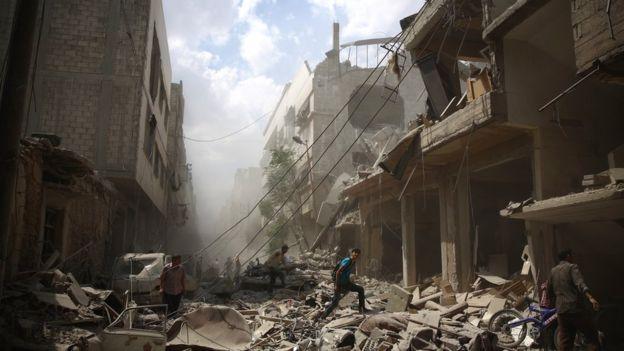 Suriye'de savaş